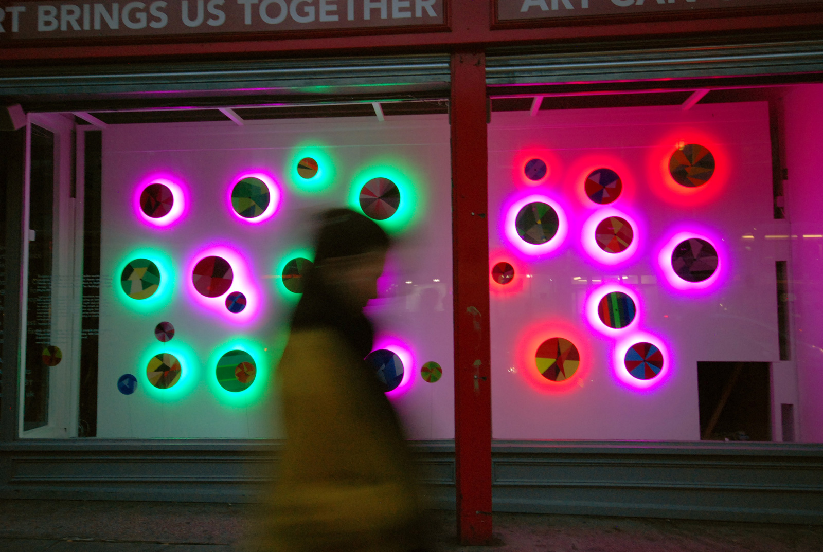 Raphael Daden | London Lght Sculpture Acrylic LED Lighting | Nottingham City