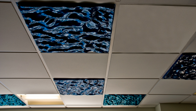 Raphael Daden | Oldham Hospital | Water Patterns