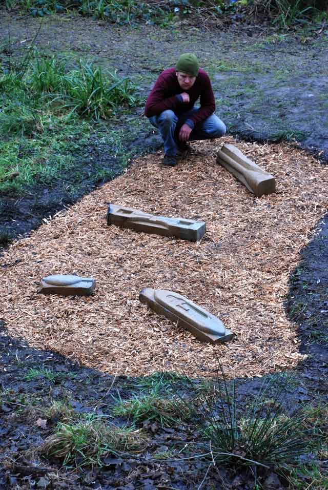 Raphael Daden | The River Colne Sculpture Trail, Huddersfield, U.K | Tools Of The Day