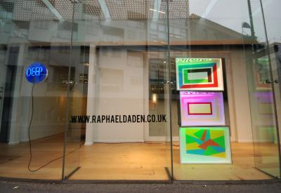 Raphael Daden | GPStudio | Light Sculpture Acrylic LED Lighting | London Light Night Painting With Light