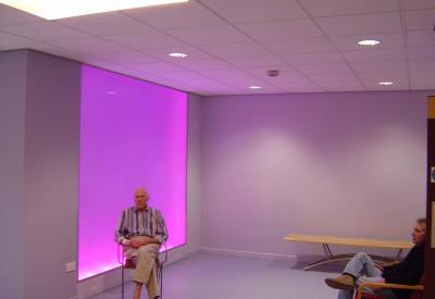 Raphael Daden | Yeovil District Hospital Somerset | Light Wall